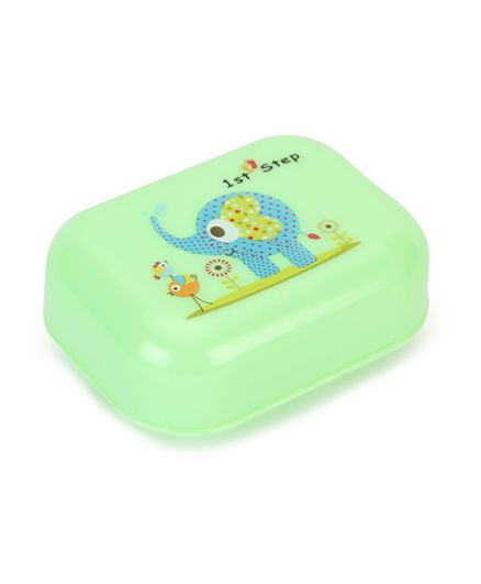 1st Step Soap Box Elephant Print - Green