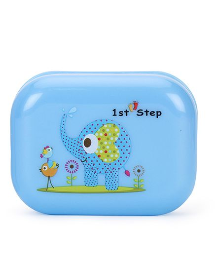 1st Step Soap Box Elephant Print - Blue
