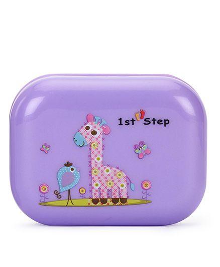 1st Step Soap Box Giraffe Print - Purple