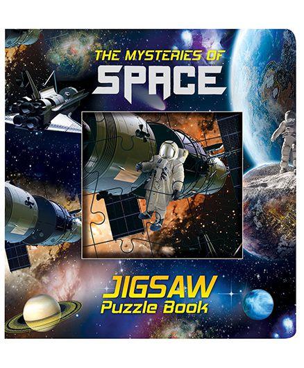 Purple Turtle Space Jigsaw Puzzle Board Book - English