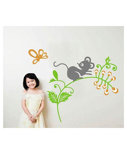 Syga Decals Design Wall Stickers - Multicolour