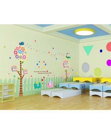Syga Nursery Wall Sticker - Multicolor