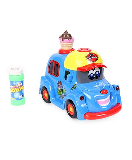 Mitashi Sky Kidz My Bubble Ice Cream Car - Multicolour