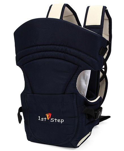 1st Step 2 Way Baby Carrier Sienna Navy Blue - ST 3007