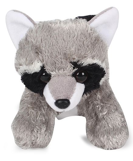 Wild Republuc Hug Ems Plush Raccoon Grey - 17 cm