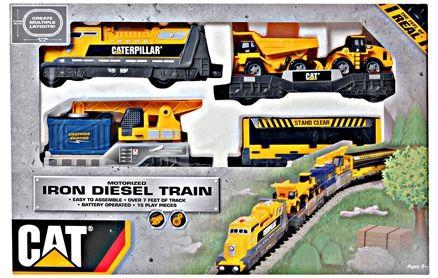 Iron Diesel Train Set