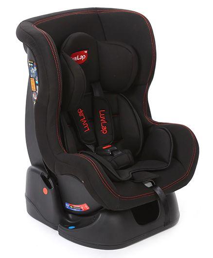 LuvLap Sports�Convertible Baby Car Seat Black - 18238