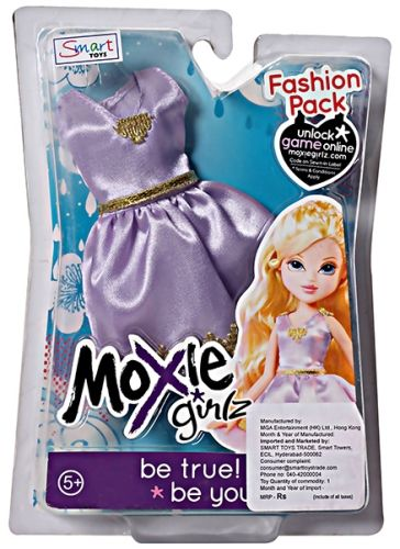 Moxie Girlz Fashion Pack - Purple Dress