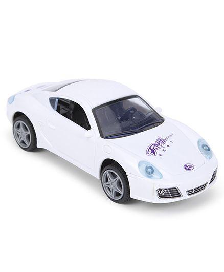 Smiles Creation Sports Car - White