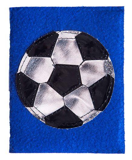 Lill Pumpkins Football Small Diary - Blue