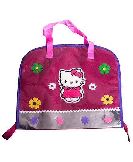 Lill Pumpkins Cat Print Drawing Bags - Pink