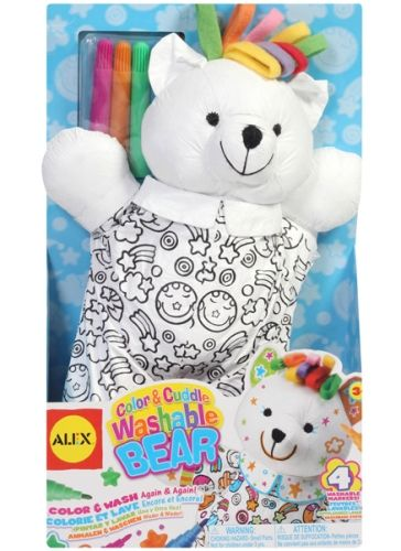 Alex - Color And Cuddle Washable Bear
