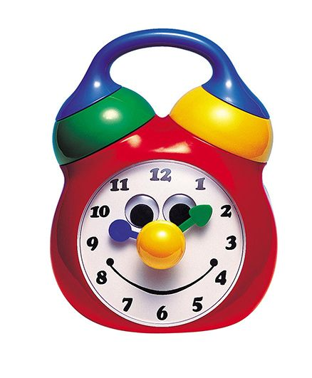 Tolo Musical Clock - Red
