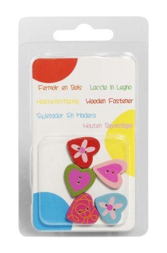 Vividha Fancy Button- Heart