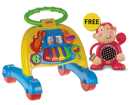 Fisher Price - Musical Activity Walker with Free Gift