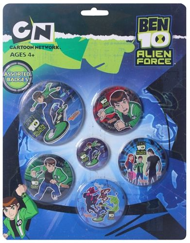 Ben 10 AF - Badge Assorted