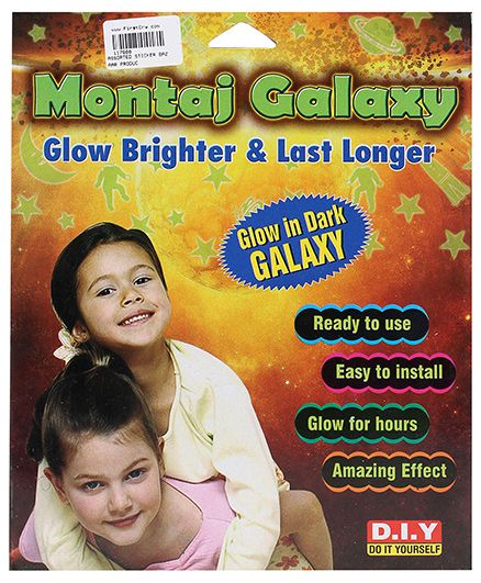 Sticker Bazaar Montaj Galaxy - Glow in Dark Sticker