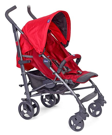 Chicco New Lite Way Stroller Basic - Red