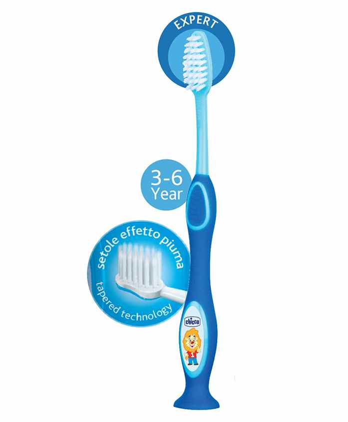 Chicco Toothbrush Blue - 17 cm