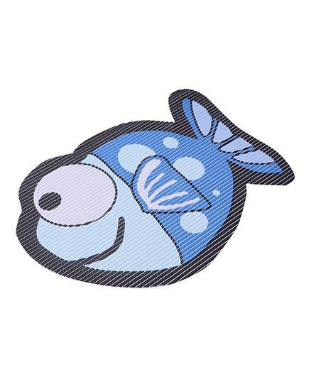 Fish Shaped EVA Table Mat - Blue