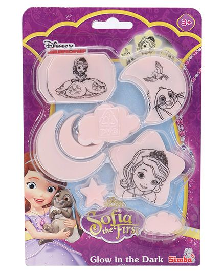 Simba Sofia The First Glow In The Dark - 30 Pieces