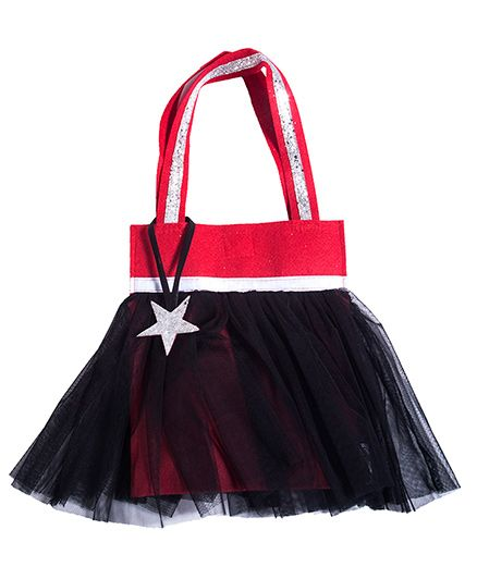 Lill Pumpkins Tutu Bags - Black & Red