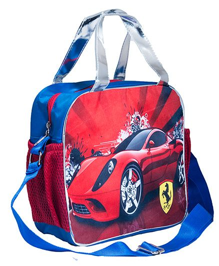 LiLl Pumpkins Car Tote & Sling Bag - Blue & Red