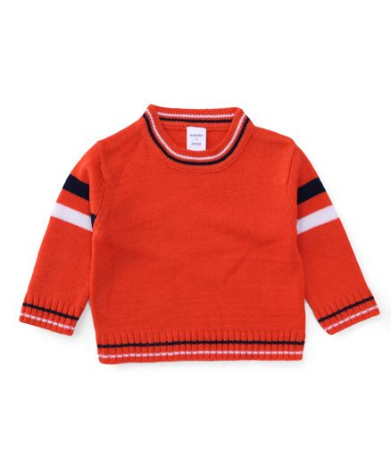 Wonderchild Stylish Cardigan - Orange