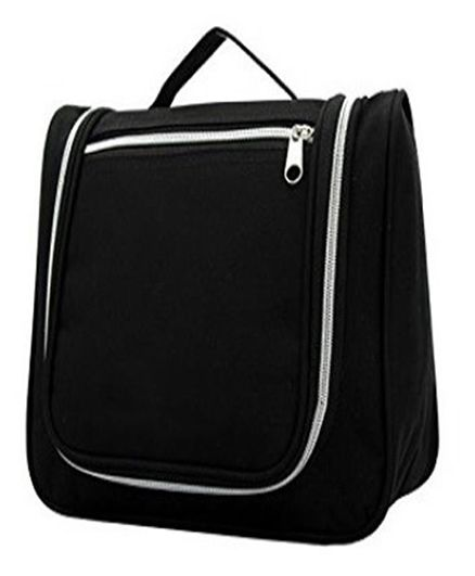 Home Union Multi Utility Toiletry Bag With Handle - Black