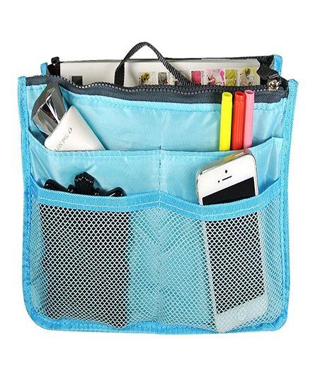 Home Union Multipurpose Handbag Organizer- Sky Blue