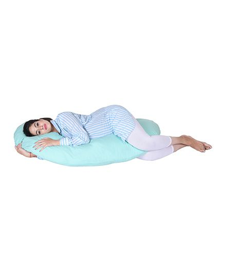 Lula Mom Maternity C Shape Body Pillow - Green