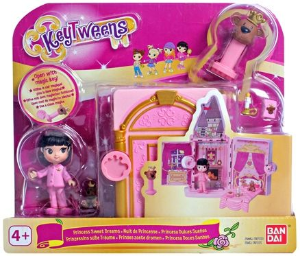Toy Triangle Key Tweens Princess Bedroom