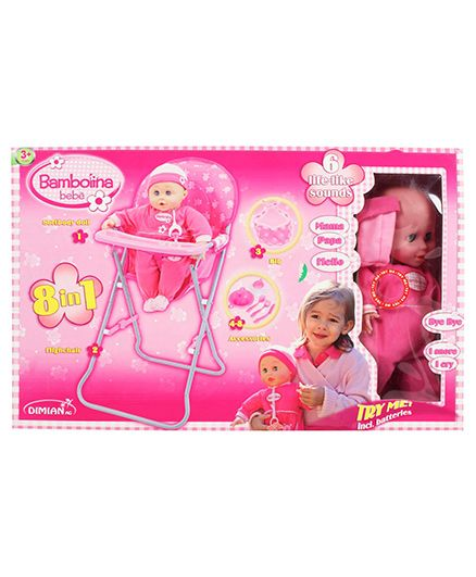 Toy Triangle - Bambolina High Chair Set