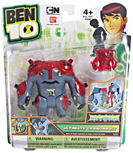 Ben 10 - Haywire Ultimate Cannon Bolt With Mini Figure
