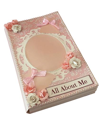 Crack of Dawn Crafts Princess Handmade Scrapbook - Pink