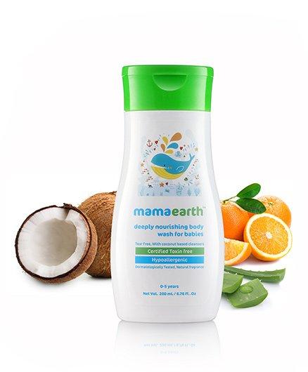 mamaearth Deeply Nourishing Wash For Babies - 200 ml