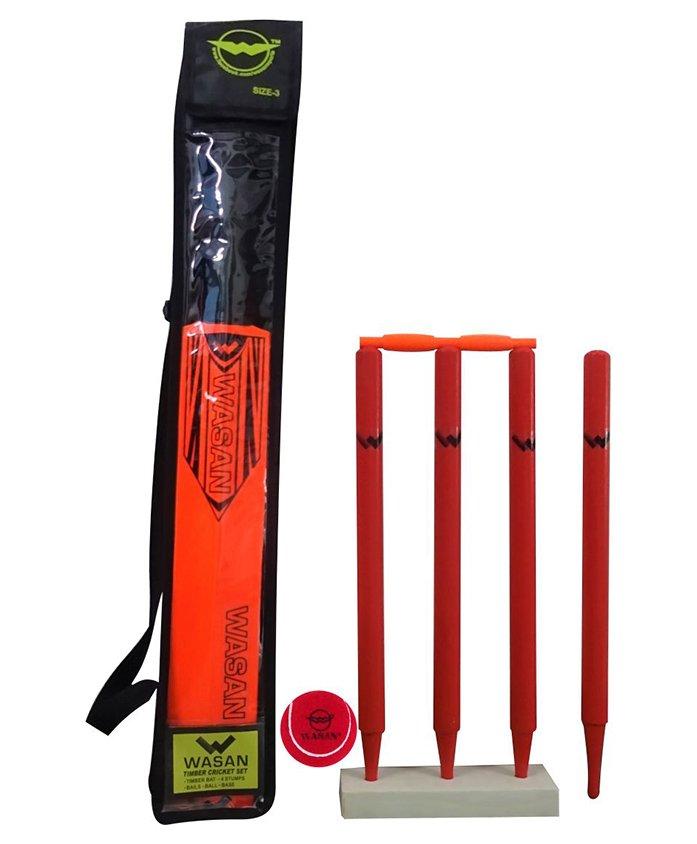 Wasan Cricket Set Orange - Size 3