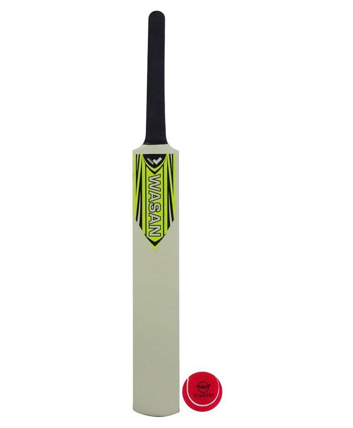 Wasan Cricket Bat And Ball Orange - Size 3