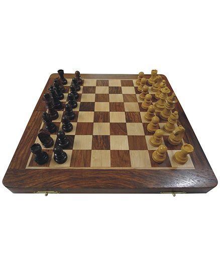 Wasan Chopra Chess Non Magnetic - Brown Cream
