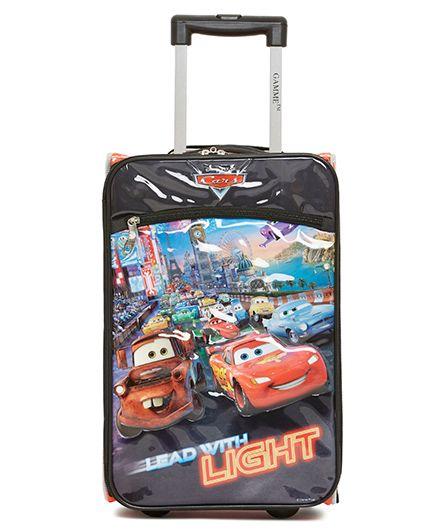 Disney Gamme Cars Soft Trolley Bag Multi Color - 17.5 Inch