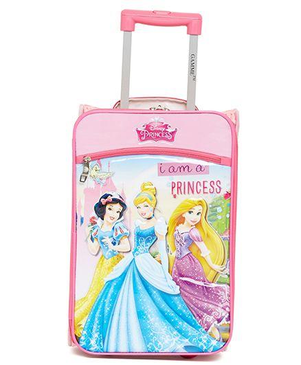 Disney Gamme Princess Soft Trolley Bag Pink - 17.5 Inch