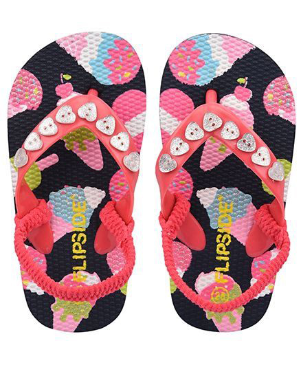 Flipside Kids Diamond Slipper - Pink