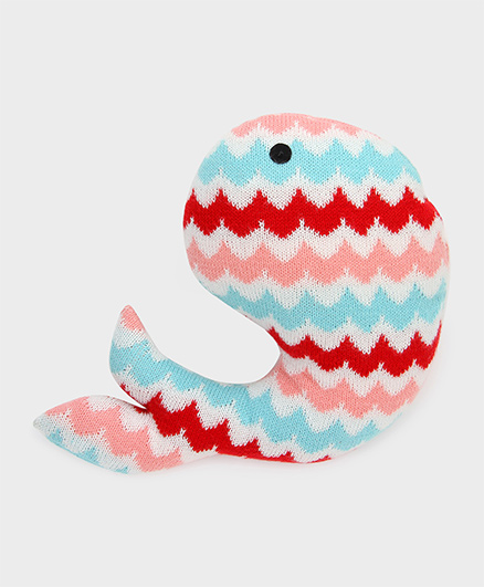 Pluchi Lily - The Fish Knitted Toy Multicolour - 20 cm