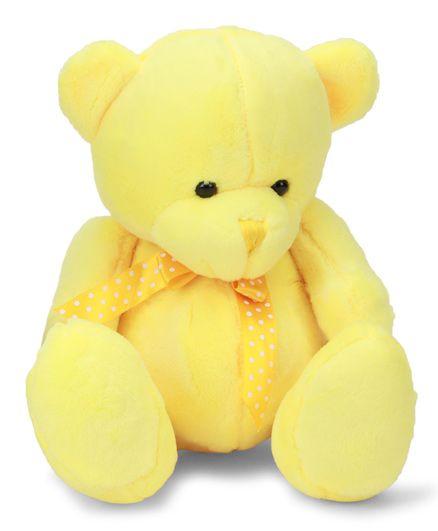 Starwalk Plush Teddy Bear Soft Toy Yellow - 25 Cm