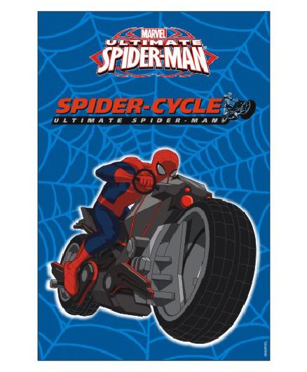 Marvel Spiderman Vertical Banner 02 - Blue