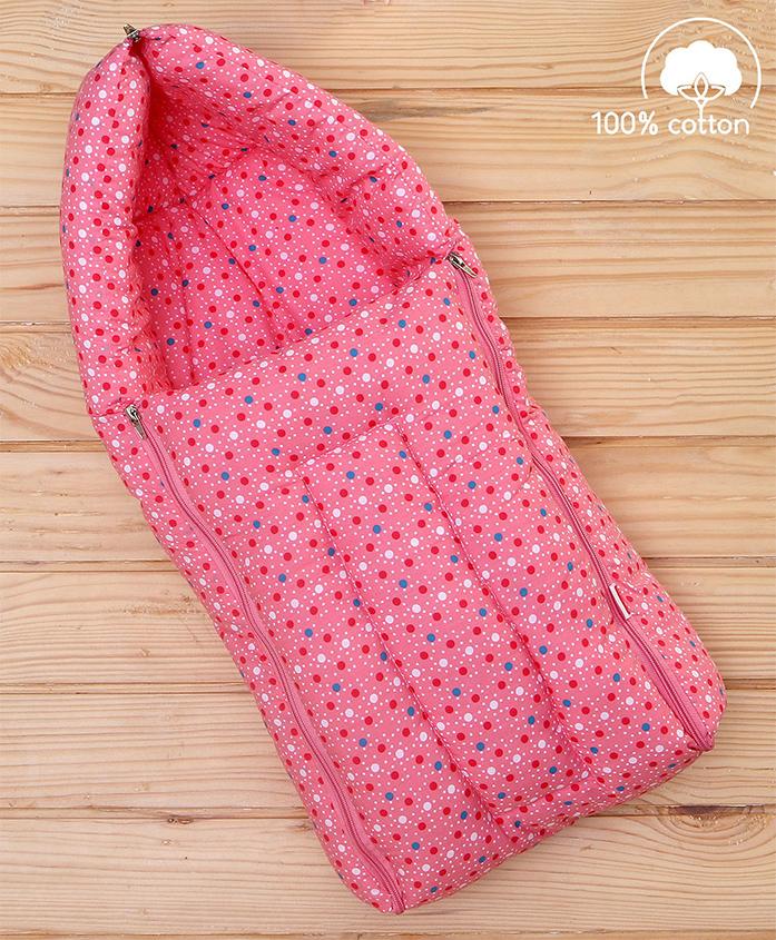 Babyhug Sleeping Bag Tiny Dots - Pink