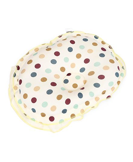 Mee Mee Polka Dot Pillow - Cream