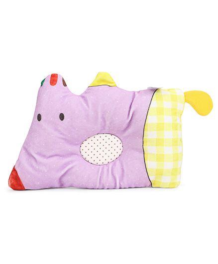 Mee Mee Pillow - Purple Yellow