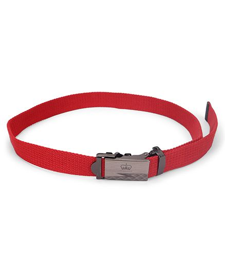 Kid-o-nation Belt With Self Lock - Red