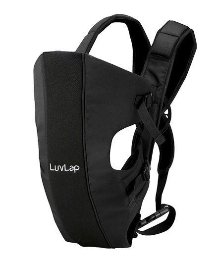 LuvLap Sunshine 2 In 1 Baby Carrier - Black